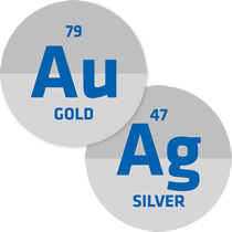 Gold (Au) and Silver (Ag)